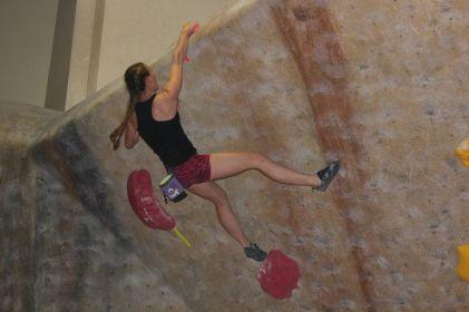 Sue Brumm SSF Finale Climber's Rock