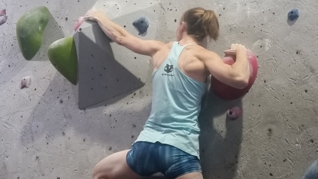 2018 Iron Maiden Bouldering Comp Evolv